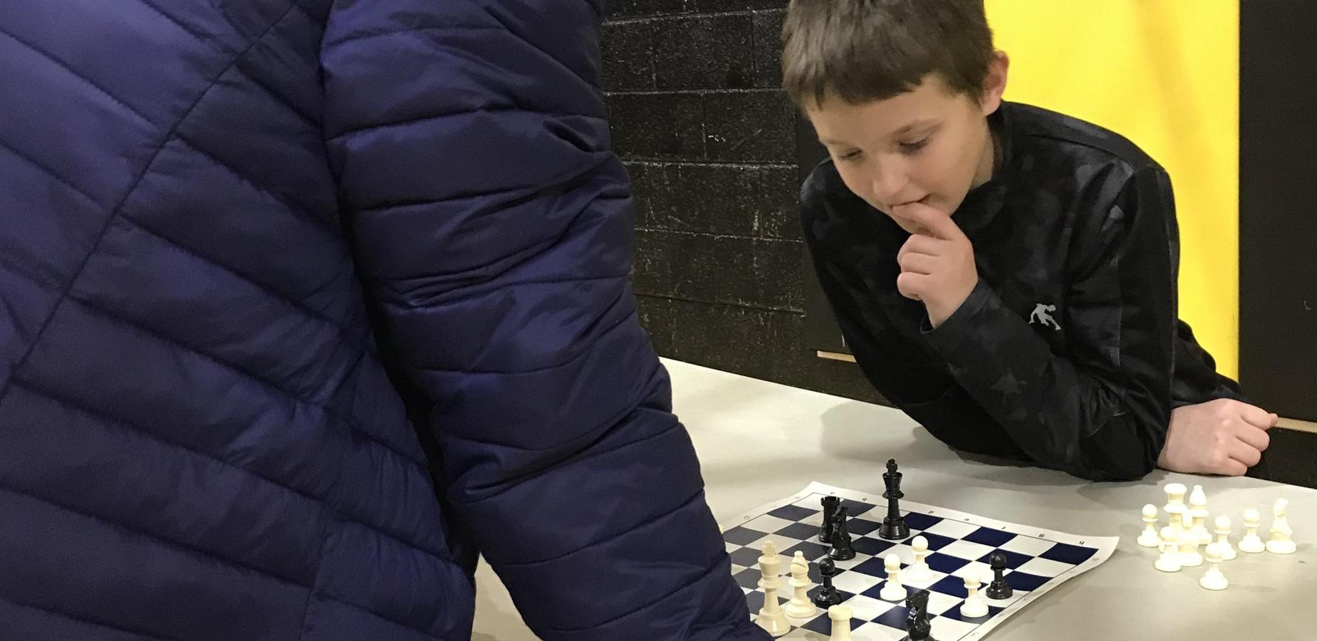 Burnsville students participated in district chess tournament.