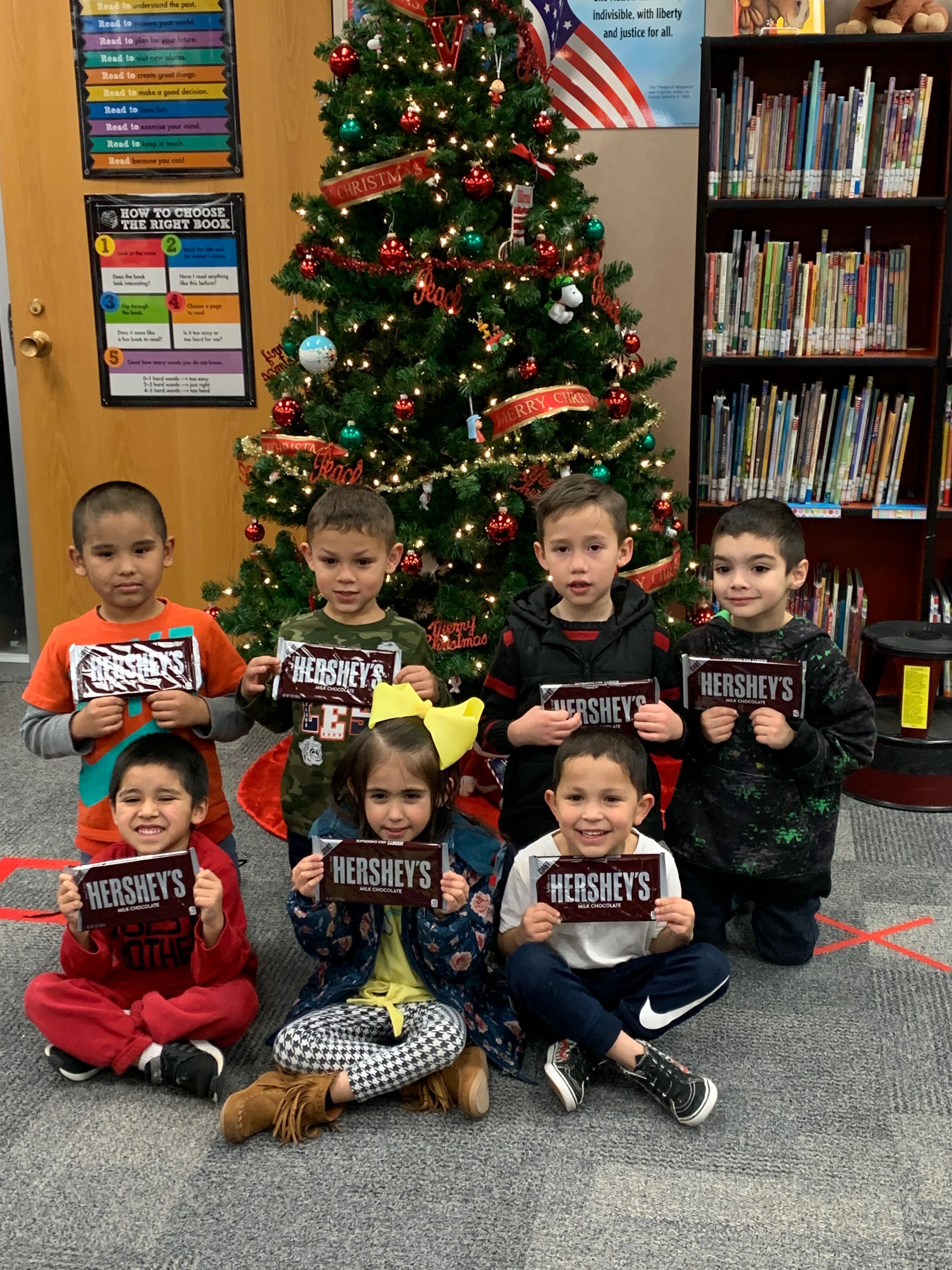 Most Signatures, Mrs. Smith's Class Dec. 2 - 18, 2019