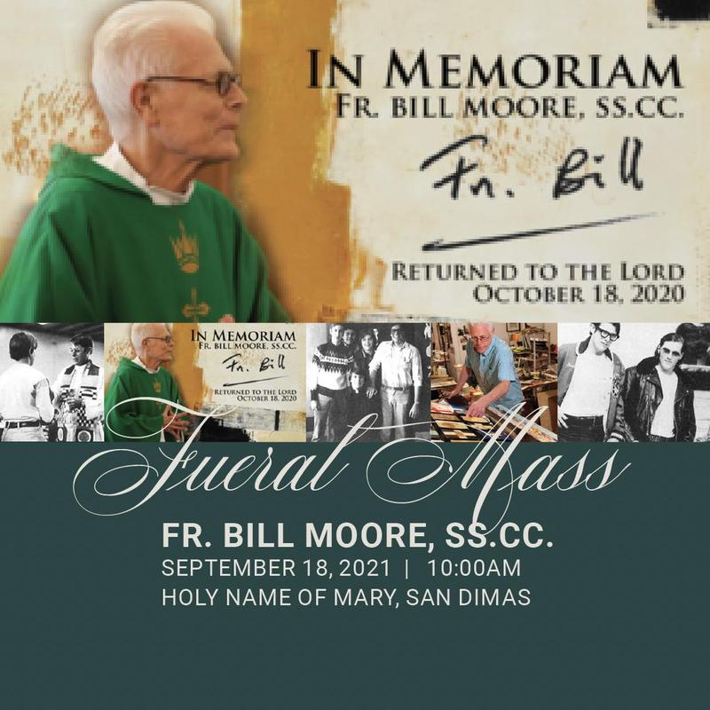 Funeral Mass for Fr. Bill Moore, SS.CC. Featured Photo
