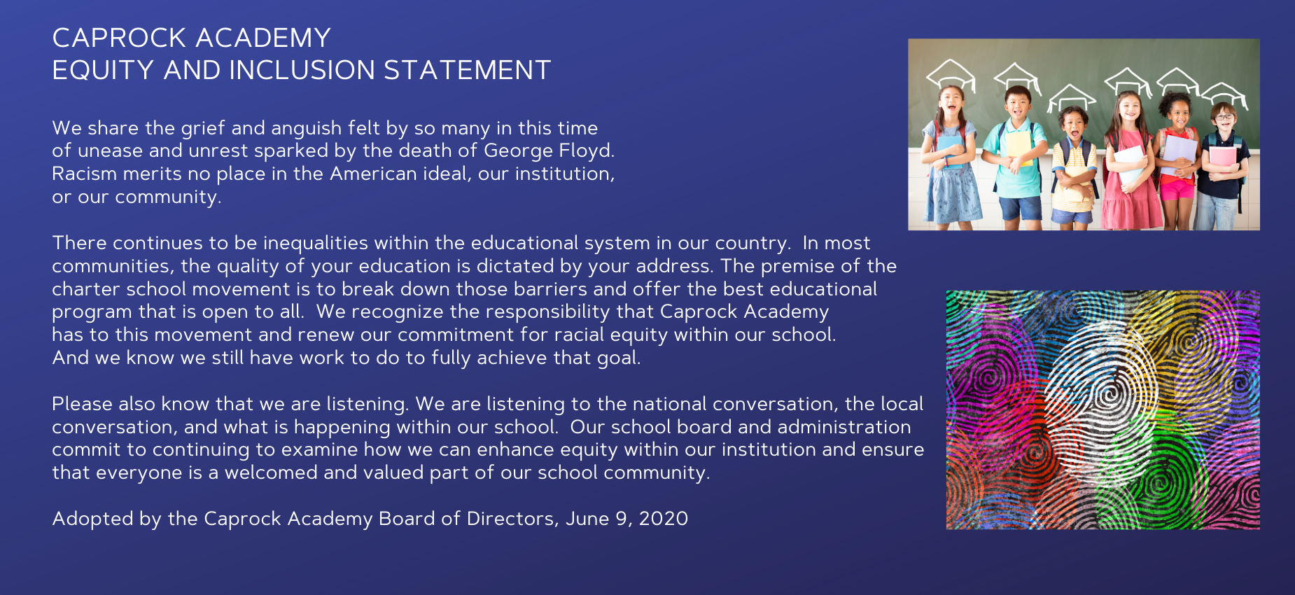 CA Equity and Inclusion Statement