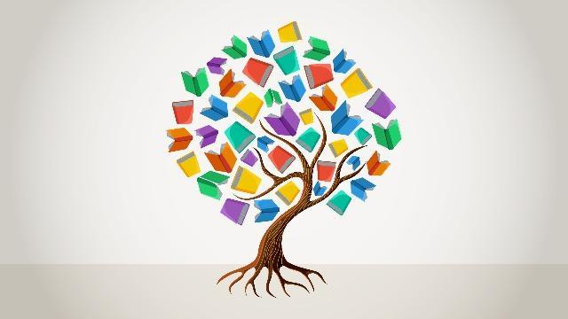 A Tree made of Books