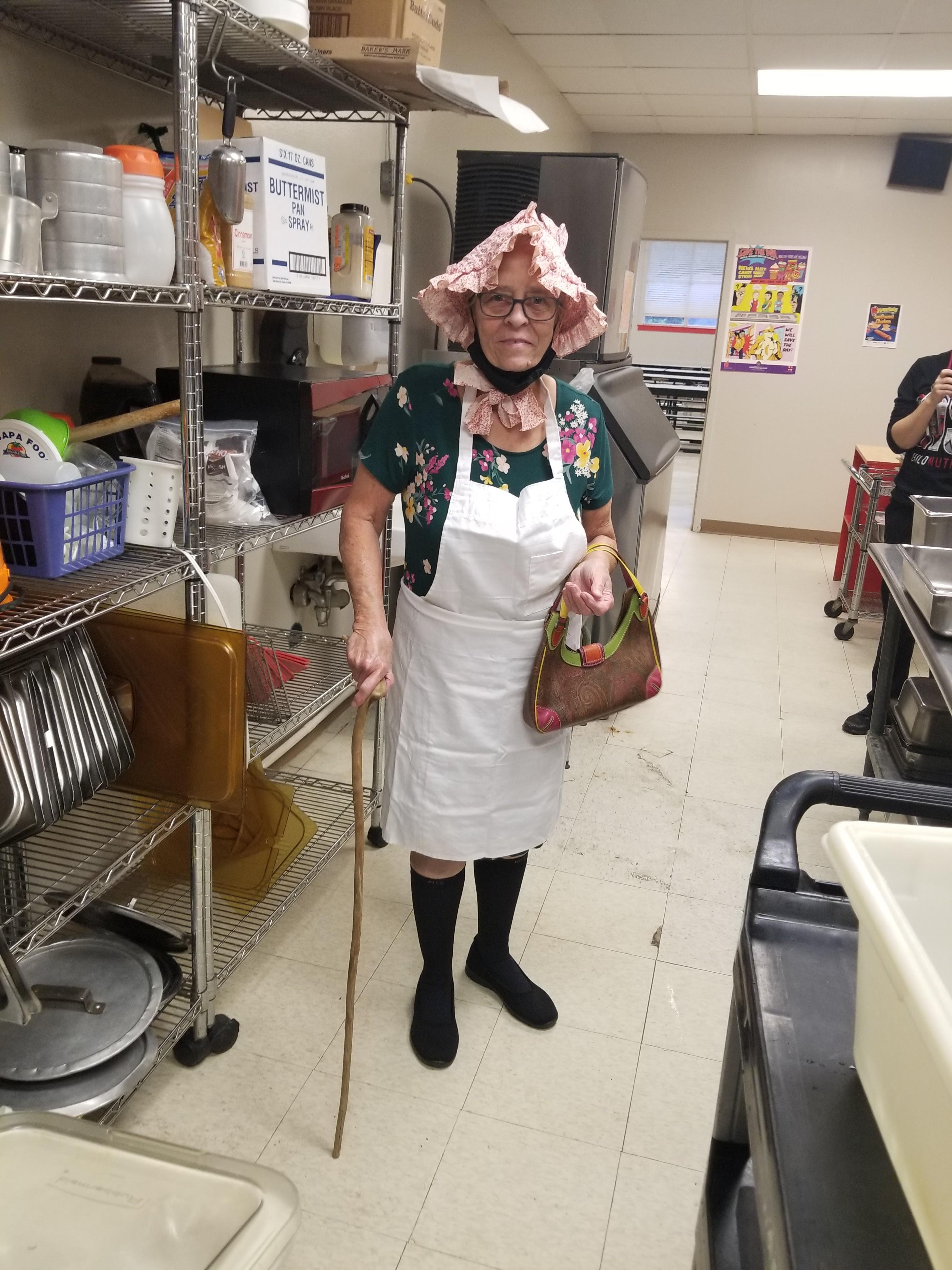 Drug Free Week - Dress like an old person day