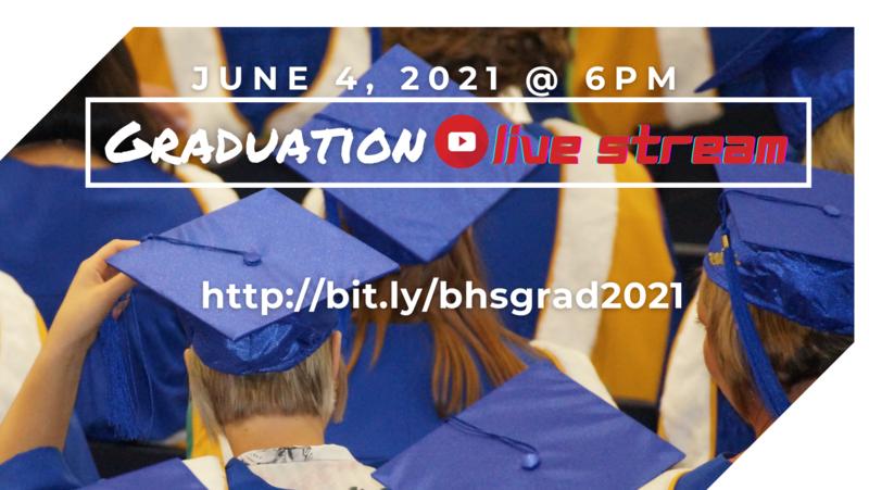 Graduation Live Stream: June 4th @ 6pm Featured Photo