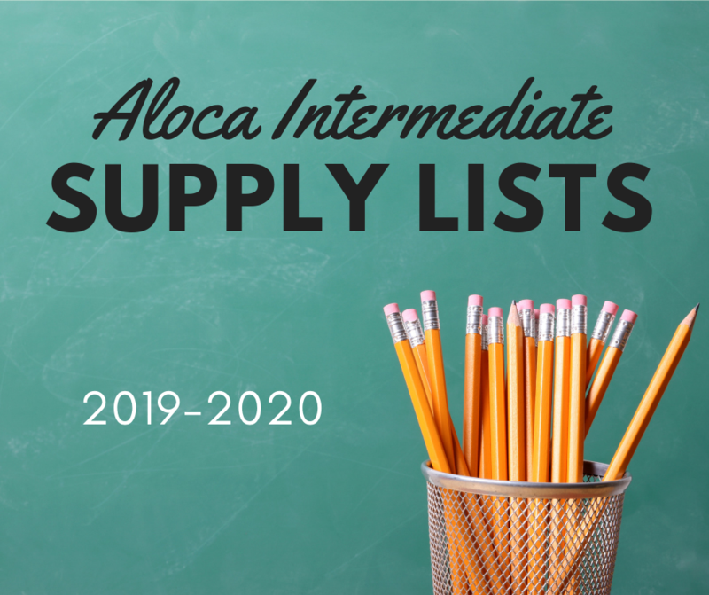 Supply Lists for 2019-2020 Featured Photo