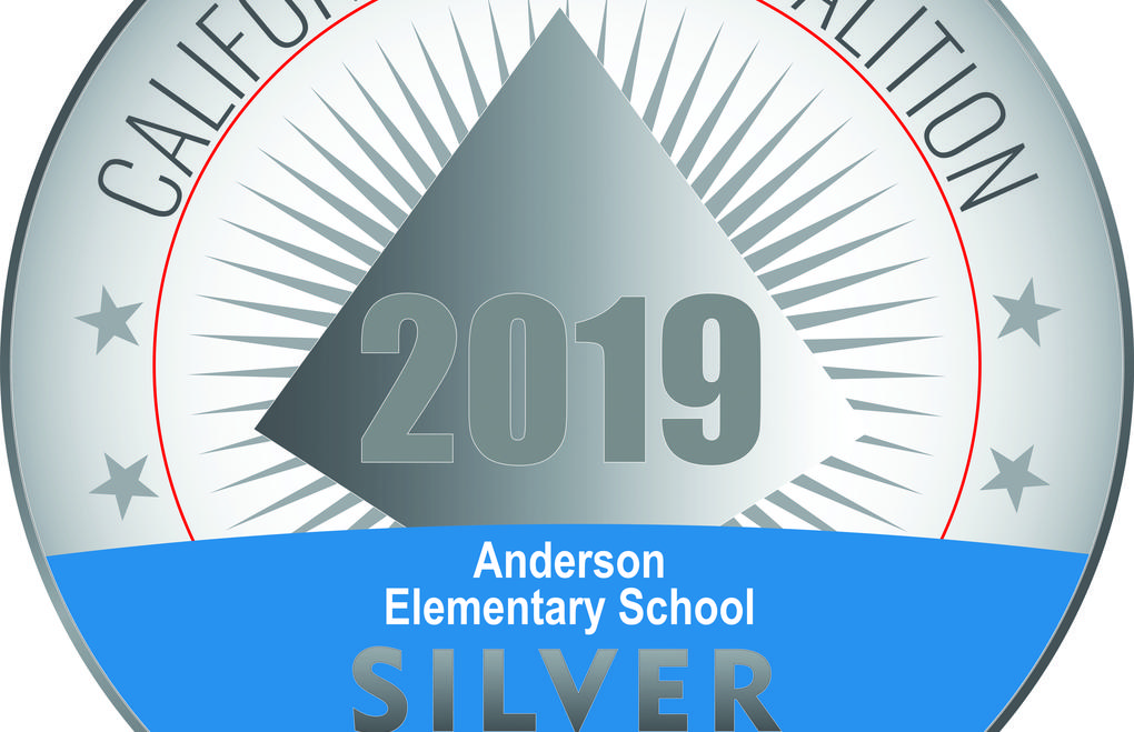 The award is a silver medal with 2019 in the middle.