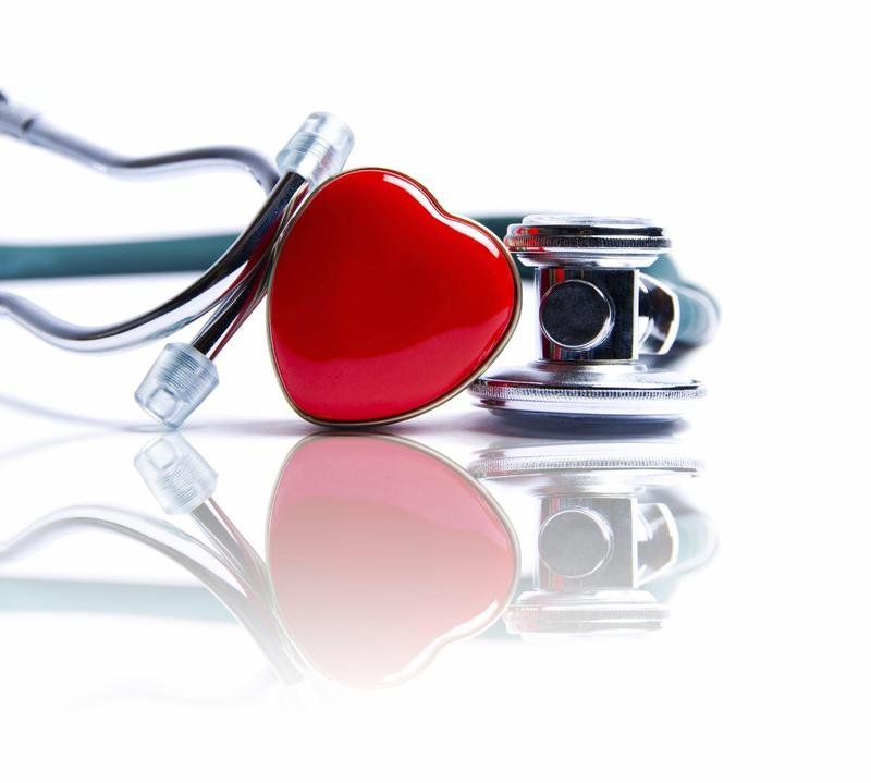 Image of a stethoscope with a heart.