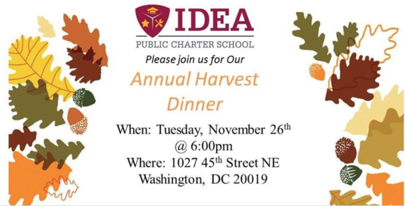 Celebrate the Season with IDEA at Our Annual Harvest Dinner Thumbnail Image