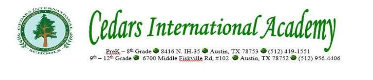 Cedars International Academy