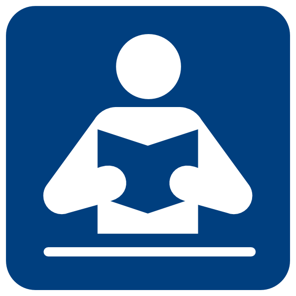 Person Reading a book