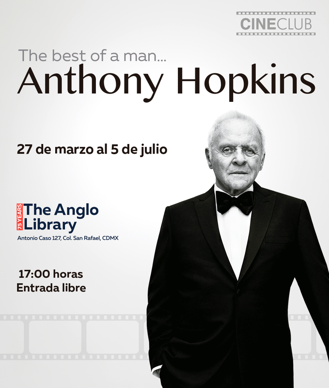 Our new Cine Club is dedicated to the great British actor Anthony Hopkins Featured Photo