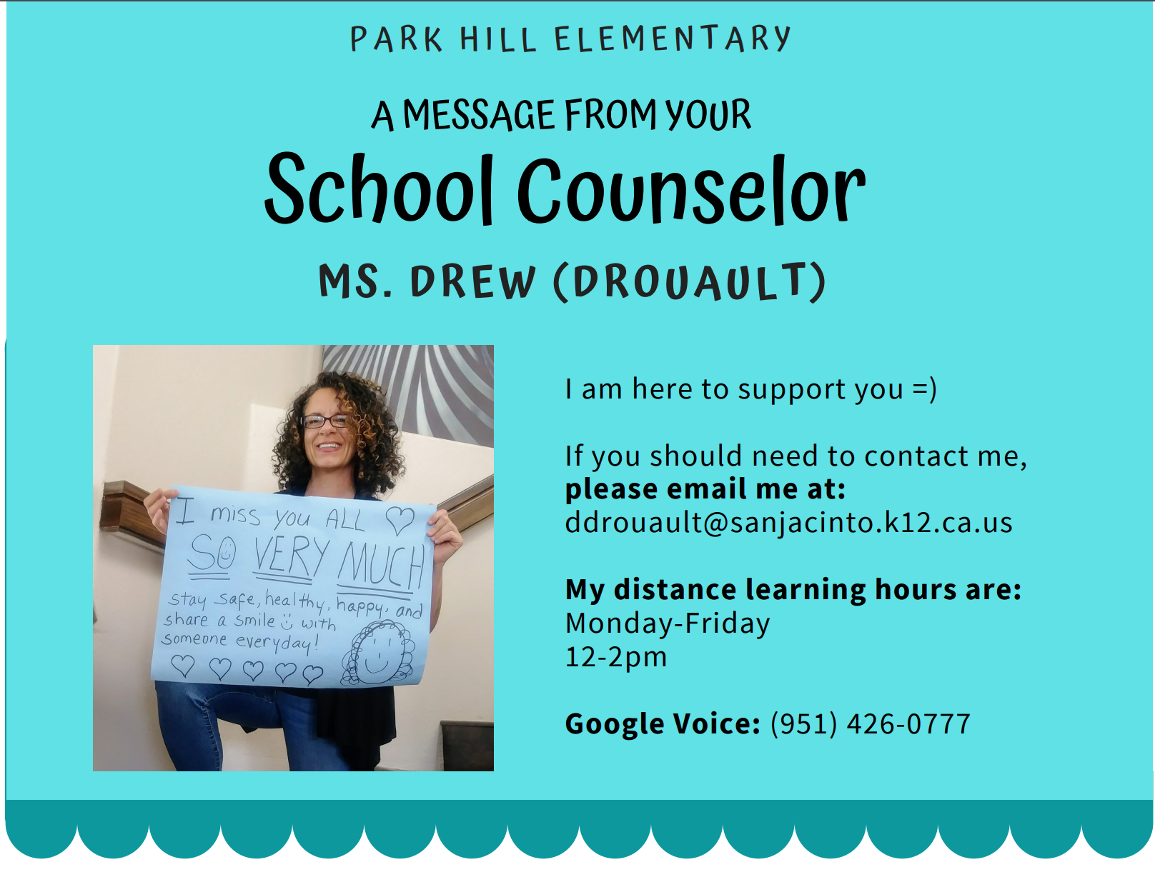 Mrs. Drew, School Counselor