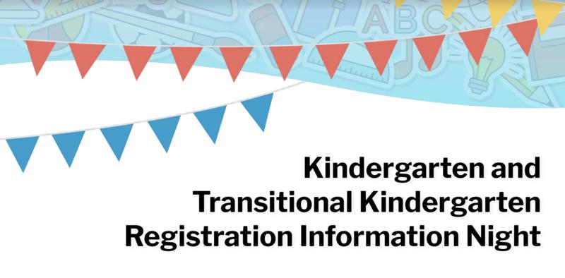Kinder & TK Registration Info Night Presentation Featured Photo