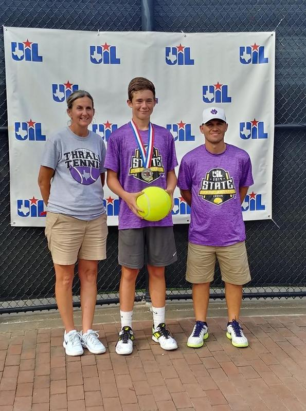 Dubec Earns Silver Medal at State Tennis Tournament! Thumbnail Image