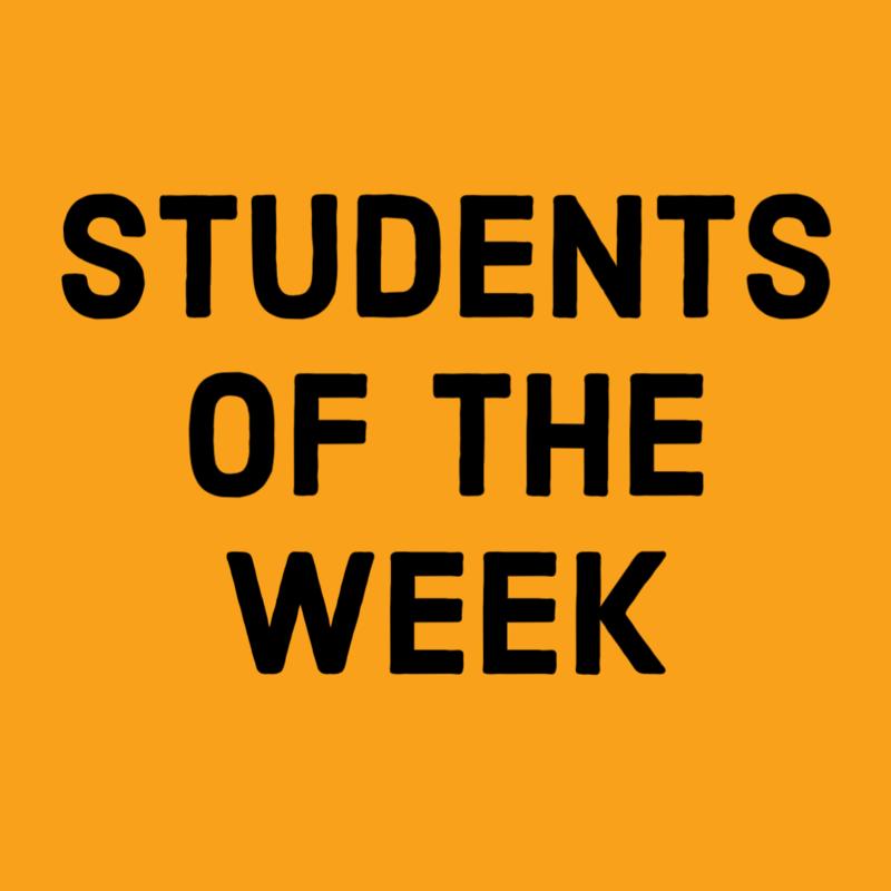 Students of the Week - November 23, 2020 Thumbnail Image