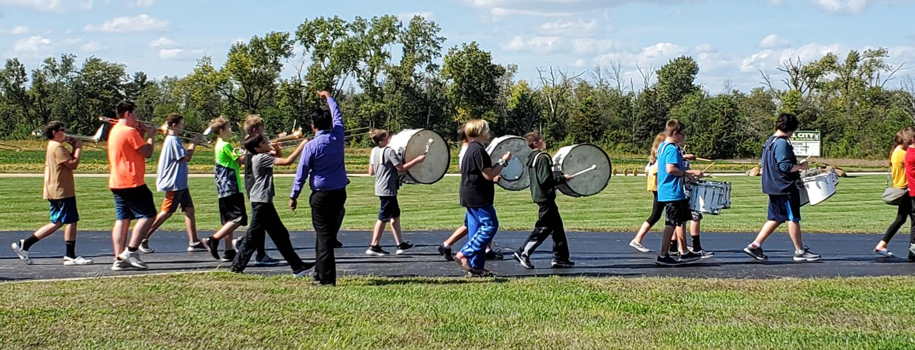 CCMS Band Practice