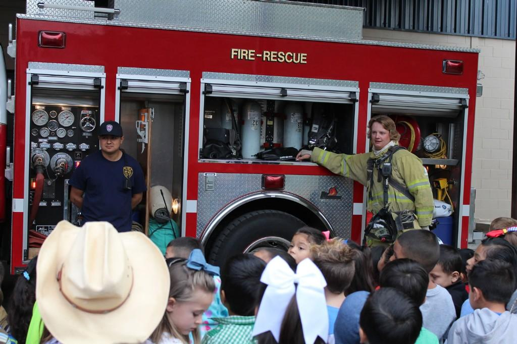 Comfort Vol. Fire Department at CES