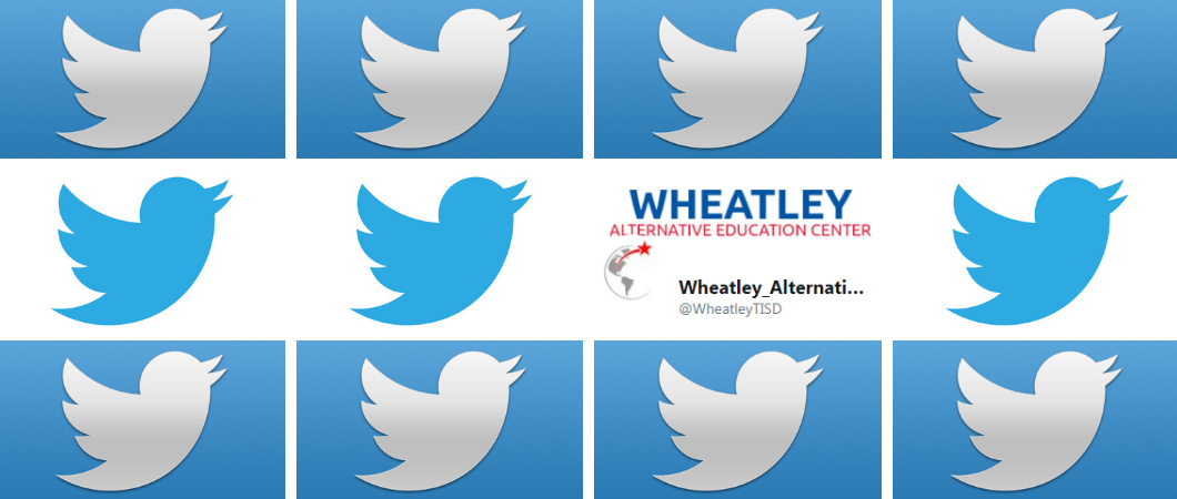 Wheatley is on twitter: @WheatleyTISD