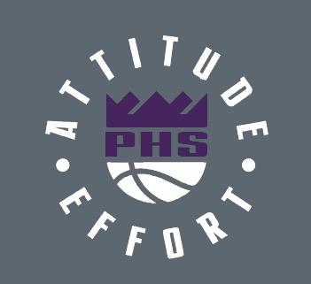 Boys Basketball Logo: Attitude and Effort