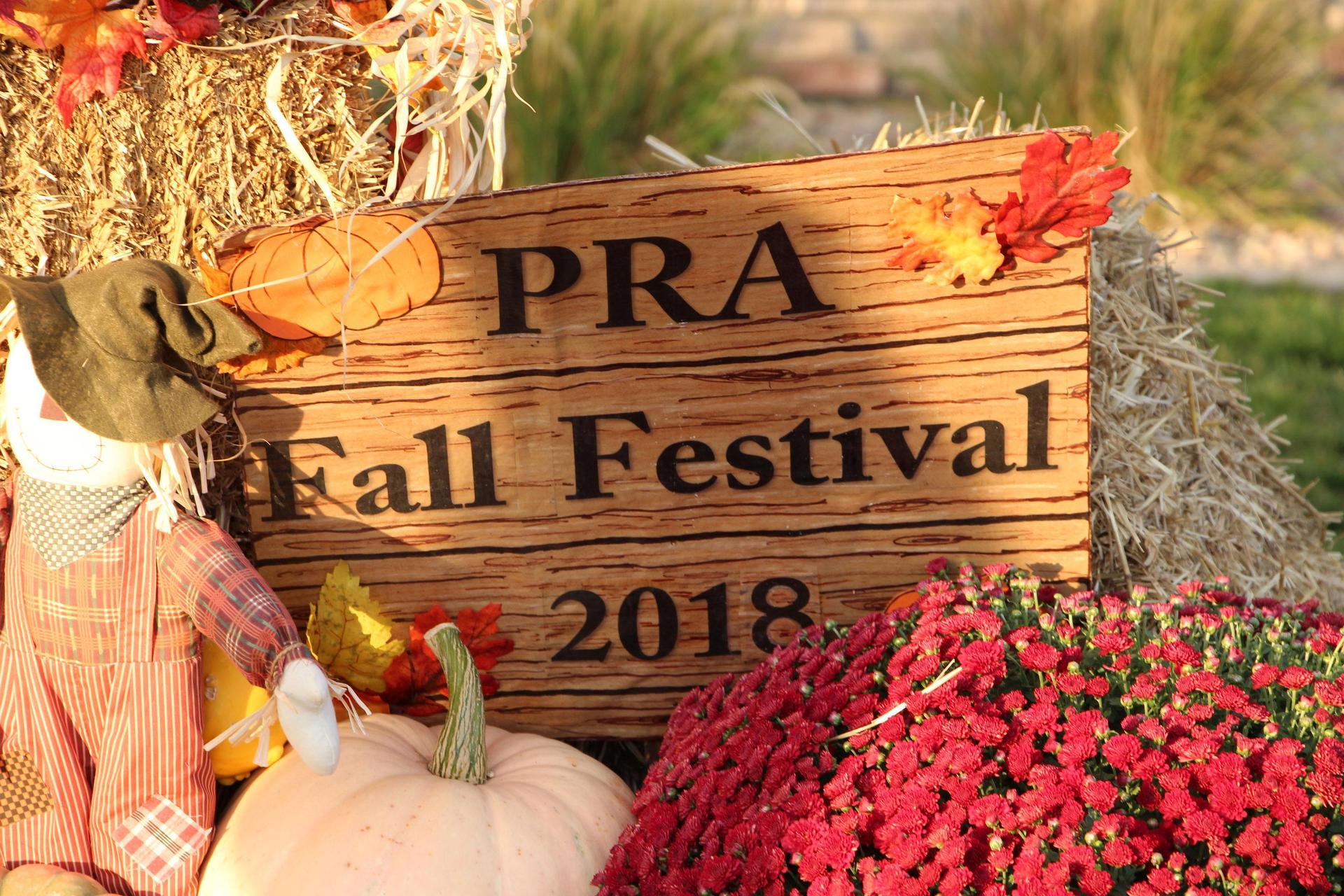 PRA Fall Festival Sign