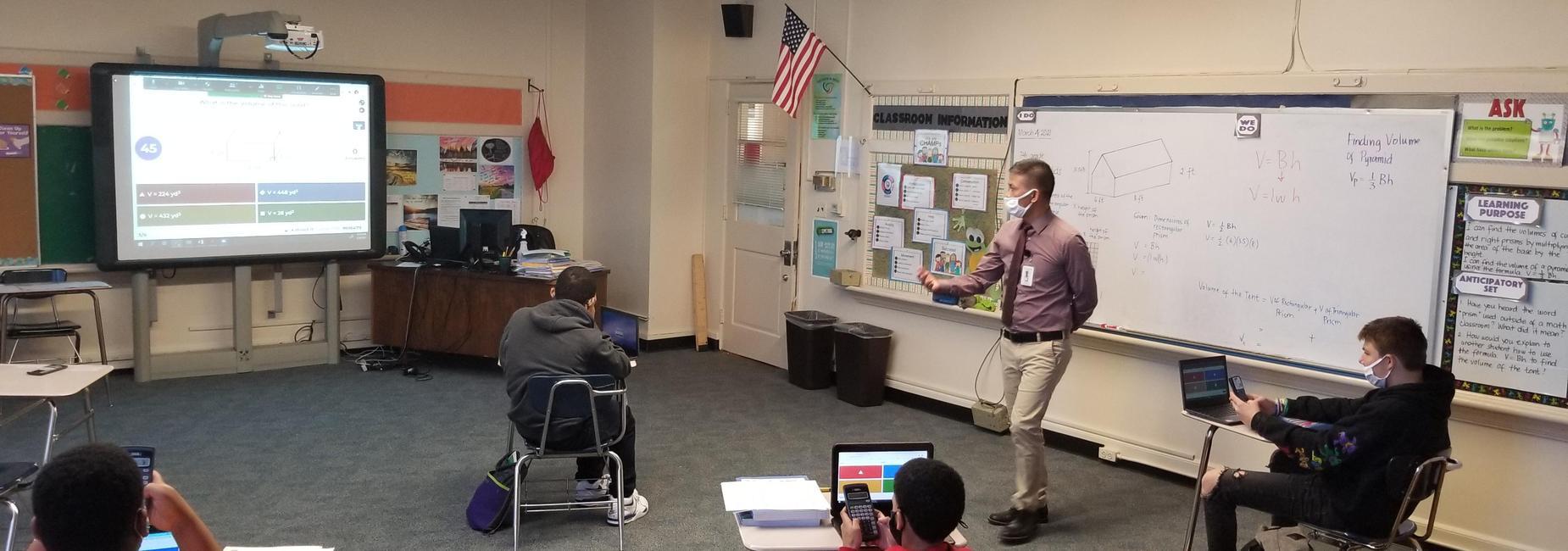 Mr. Santos - Math Class