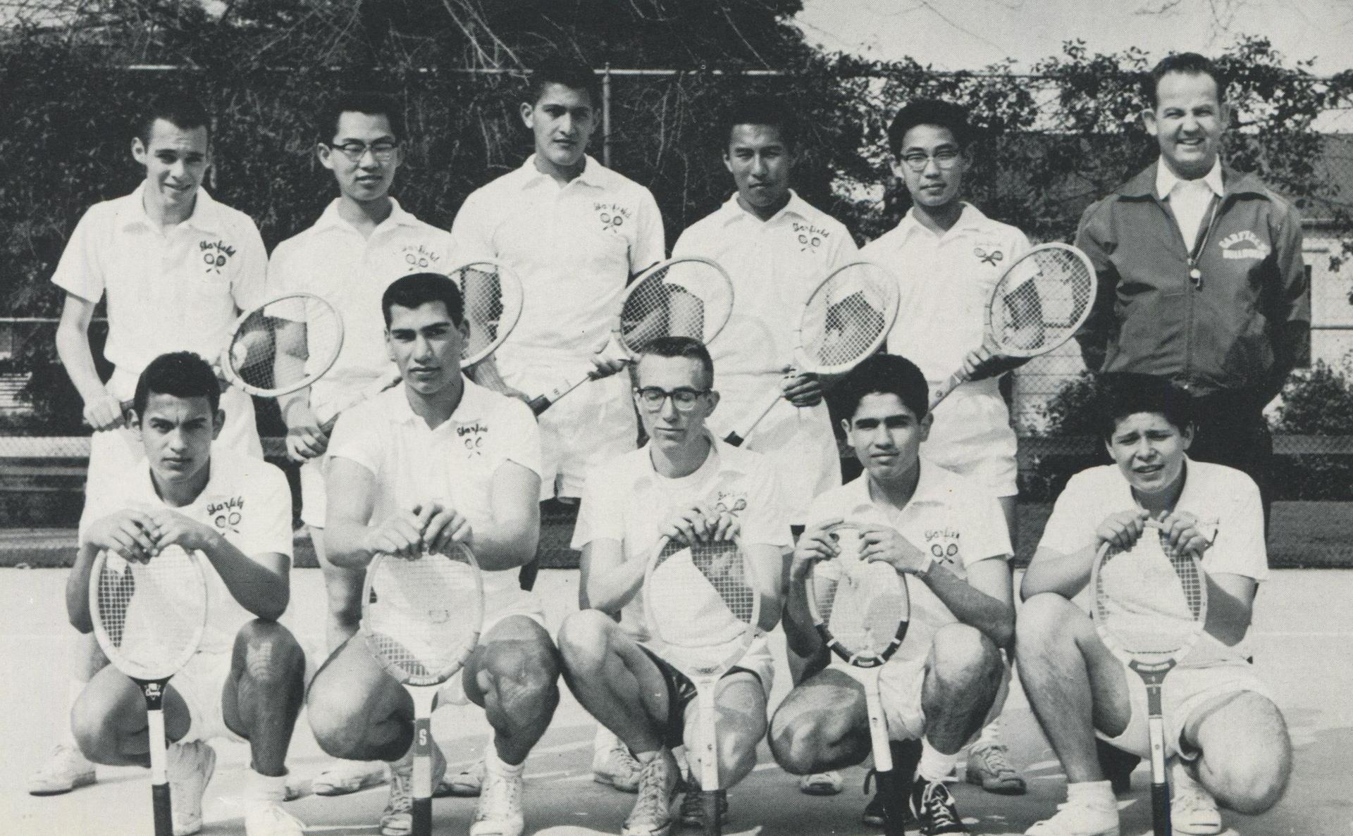 1958 Tennis Team