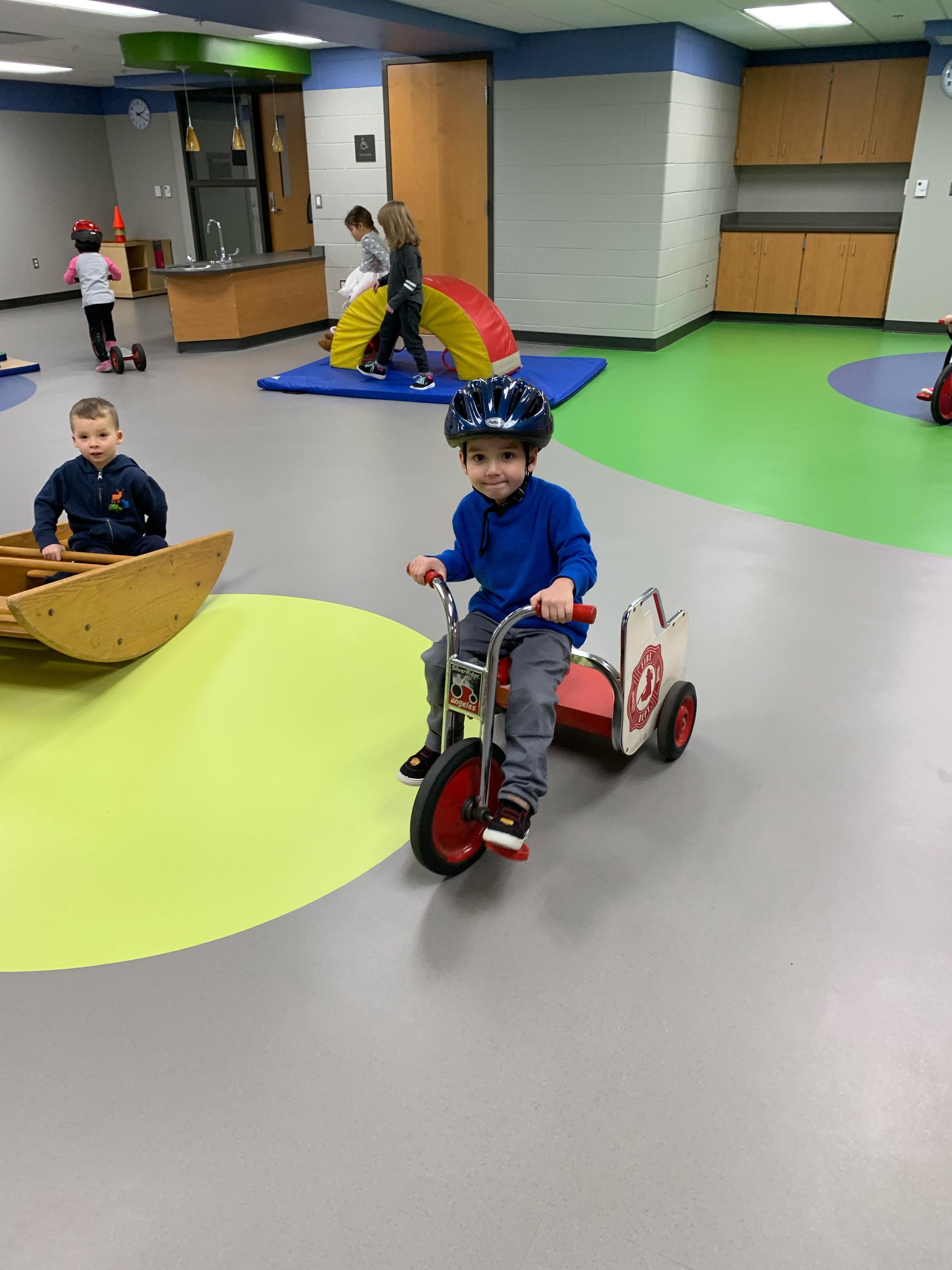 Motor skills centers