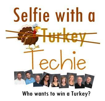 Selfie with a techie
