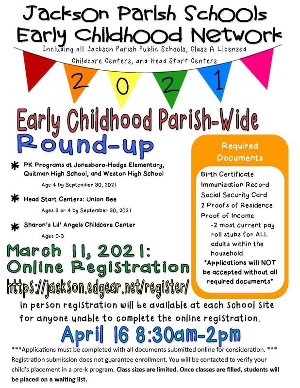 Early Childhood Parish-wide Round Up!! Thumbnail Image
