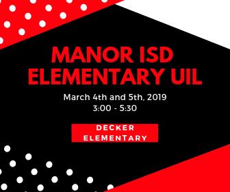 Manor ISD Elementary UIL Thumbnail Image