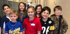 Students at French Creek Elementary School celebrated Career Week on Thursday by dressing up as what they want to be when they grow up.  Miss Lauren, school counselor, talked with each class about various careers and choices.