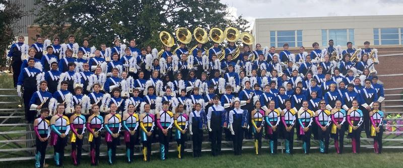 The Westfield High School Marching Band participated in the Bands of America Mid-Atlantic Regional Championship at the University of Maryland on Oct. 9, advancing to the finals for a 3rd consecutive year and placing 10th alongside bands from Connecticut, Maryland, New Jersey,North Carolina, Pennsylvania, and Virginia.