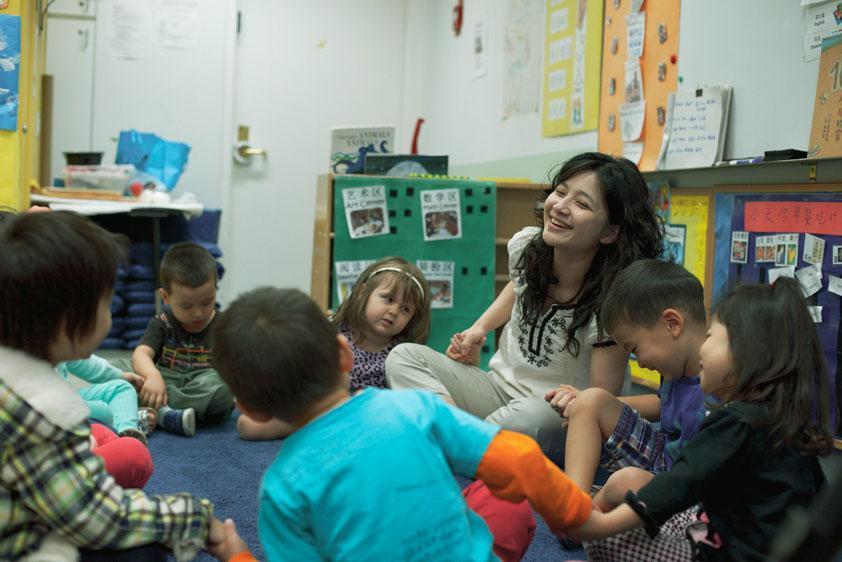 HudsonWay Immersion School Preschoolers