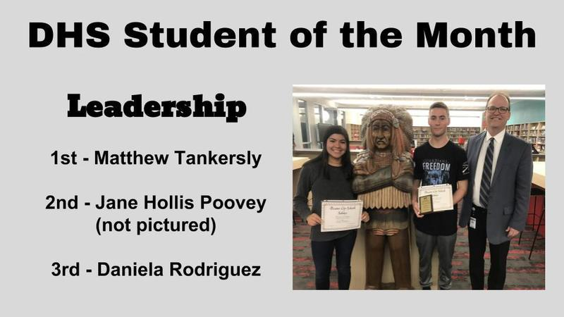 DHS Student of the Month