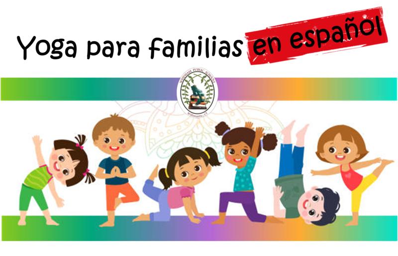¡Acompáñanos para yoga para familias y estudiantes de escuela primaria en español! Thumbnail Image