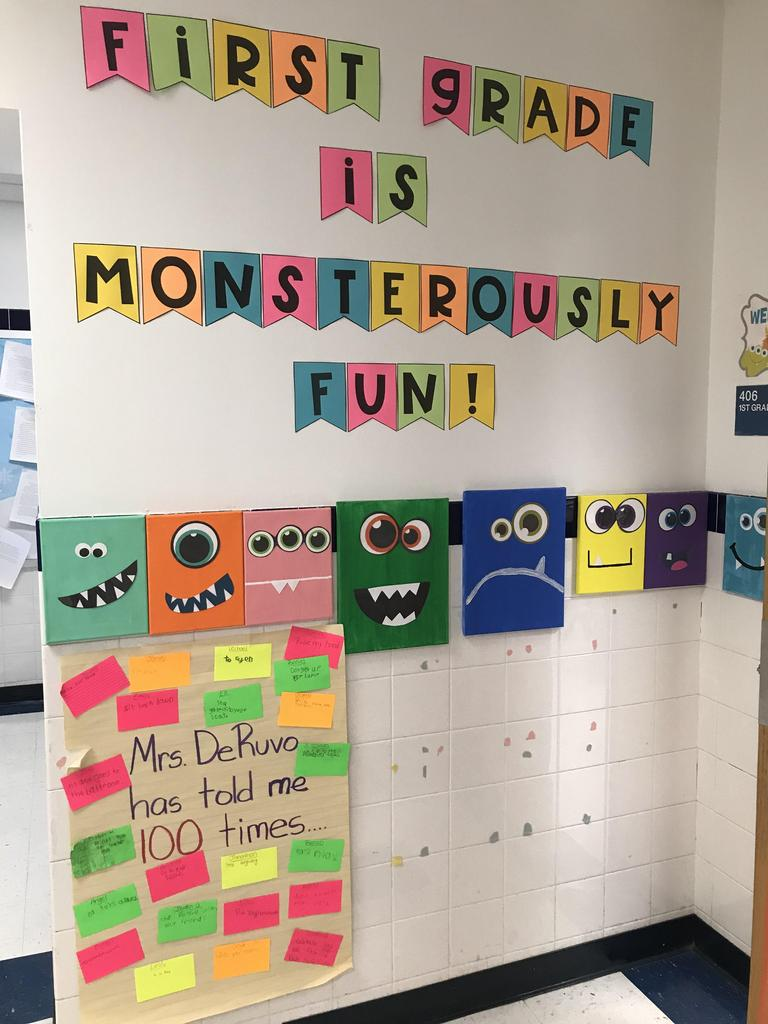 first grade is monsterously fun