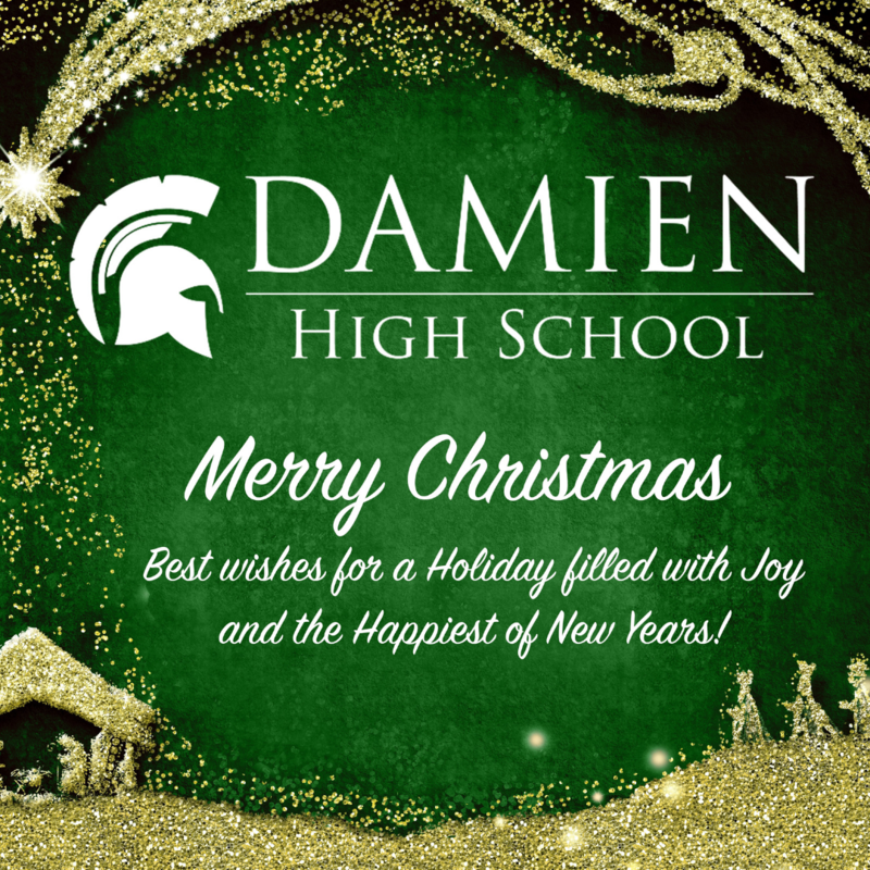 Merry Christmas from Damien High School Featured Photo