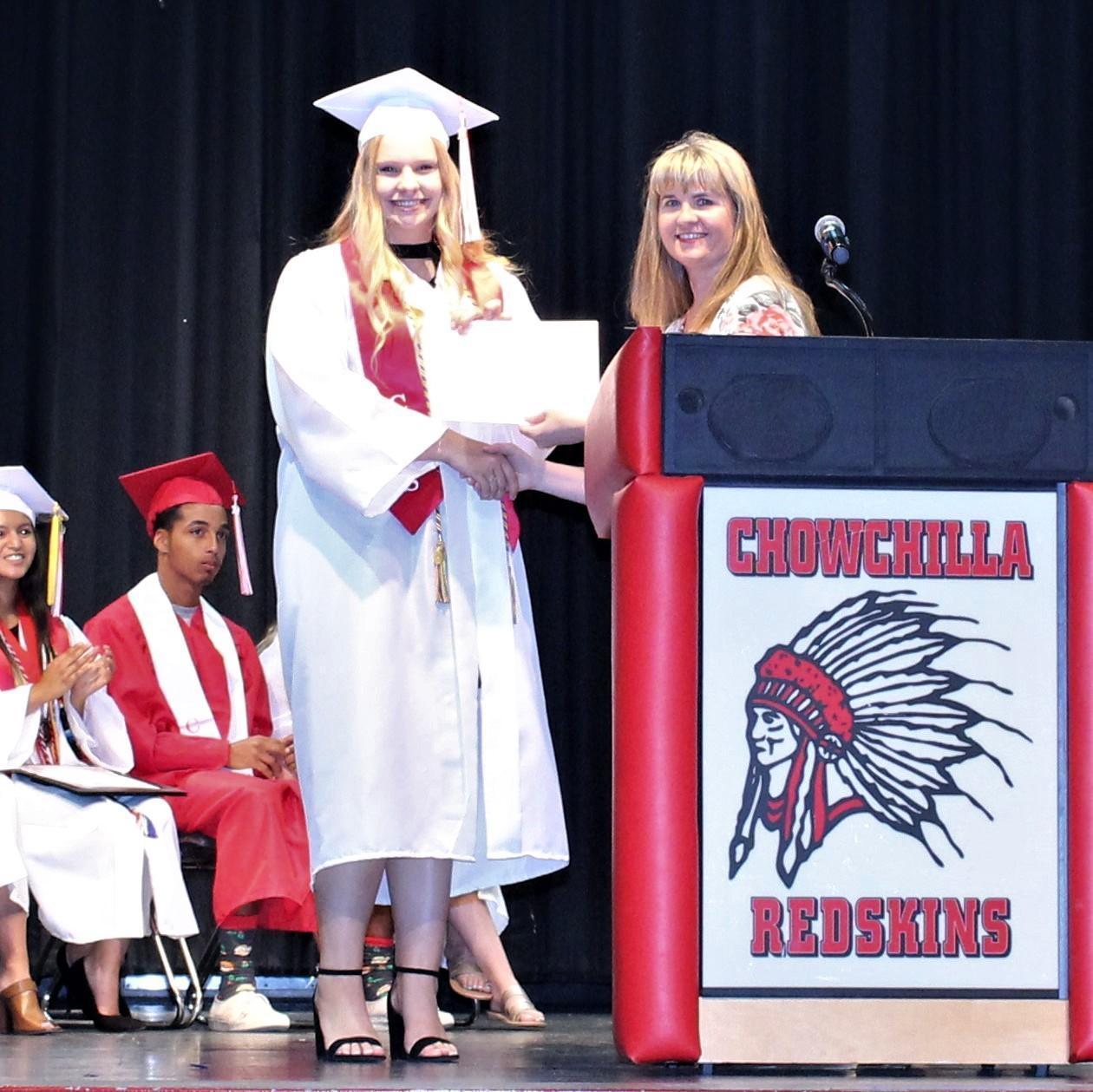 Molly Spomer, CUHS Assistant Principal Danielle Ross