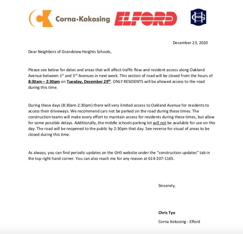 elford letter
