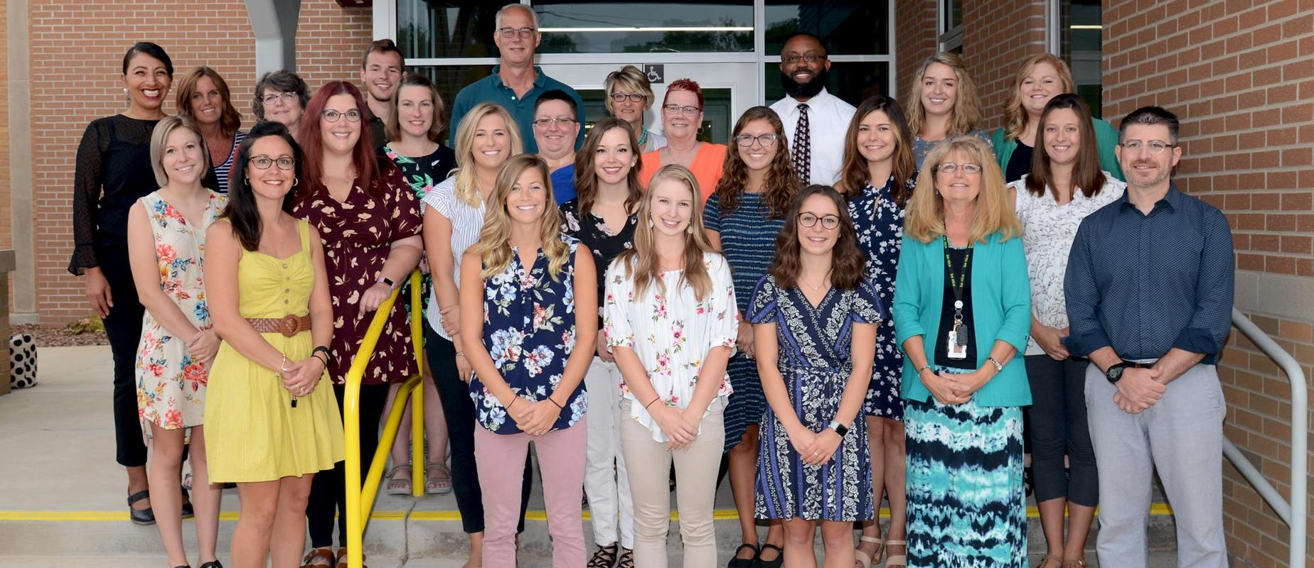 staff photo of East Elementary