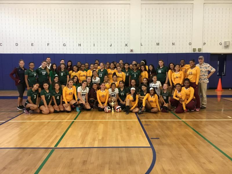Maspeth High Hosts 2nd Annual Community Volleyball Cup Featured Photo