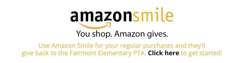 Support the PTA Via Amazon Smile!