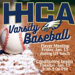HHCA Baseball