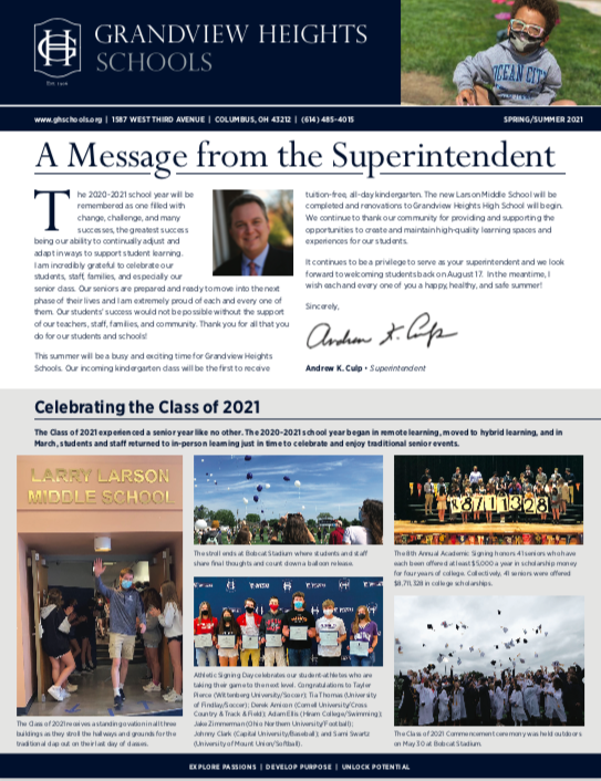 District Newsletter Thumbnail Image