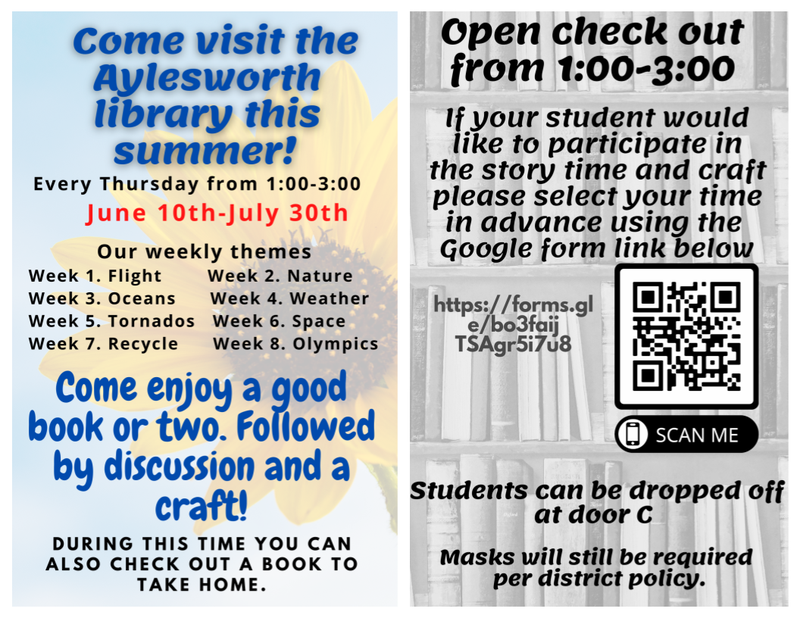 Summer at AY Library