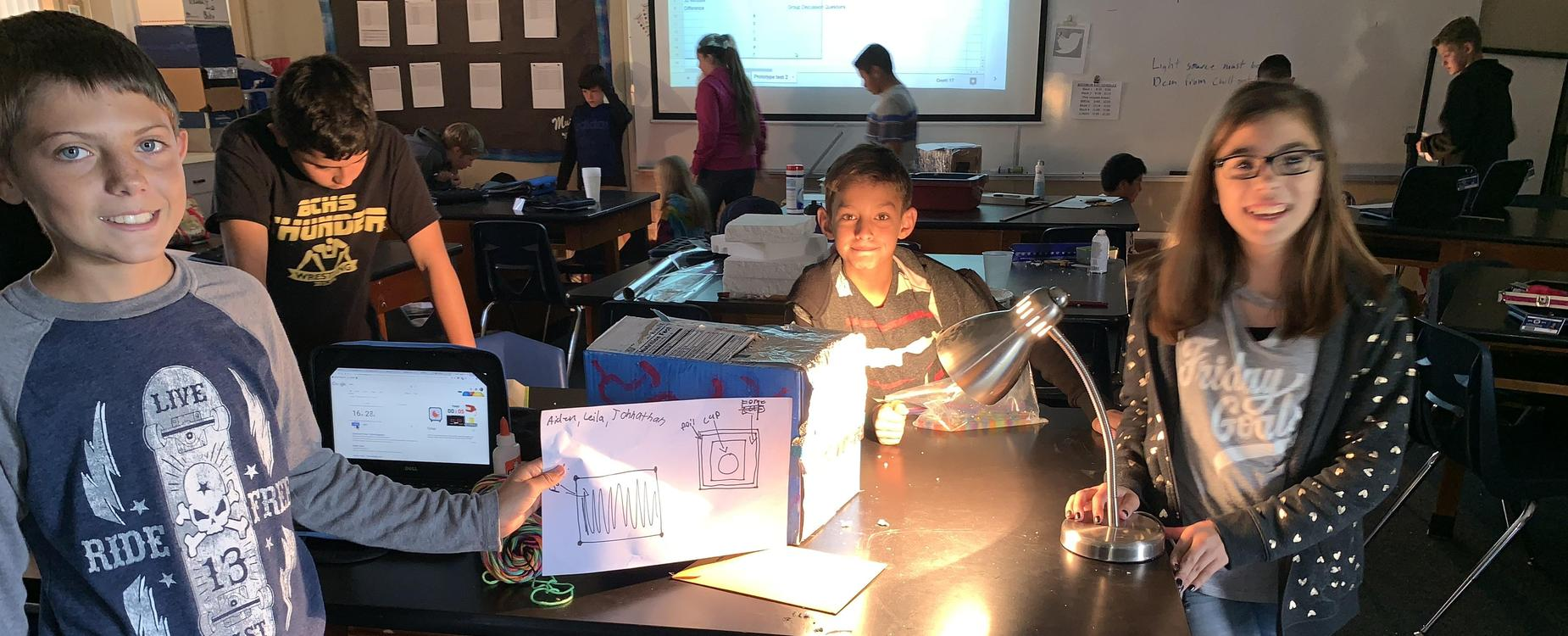 6th grade Chill Out Box project