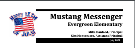 July Mustang Messenger