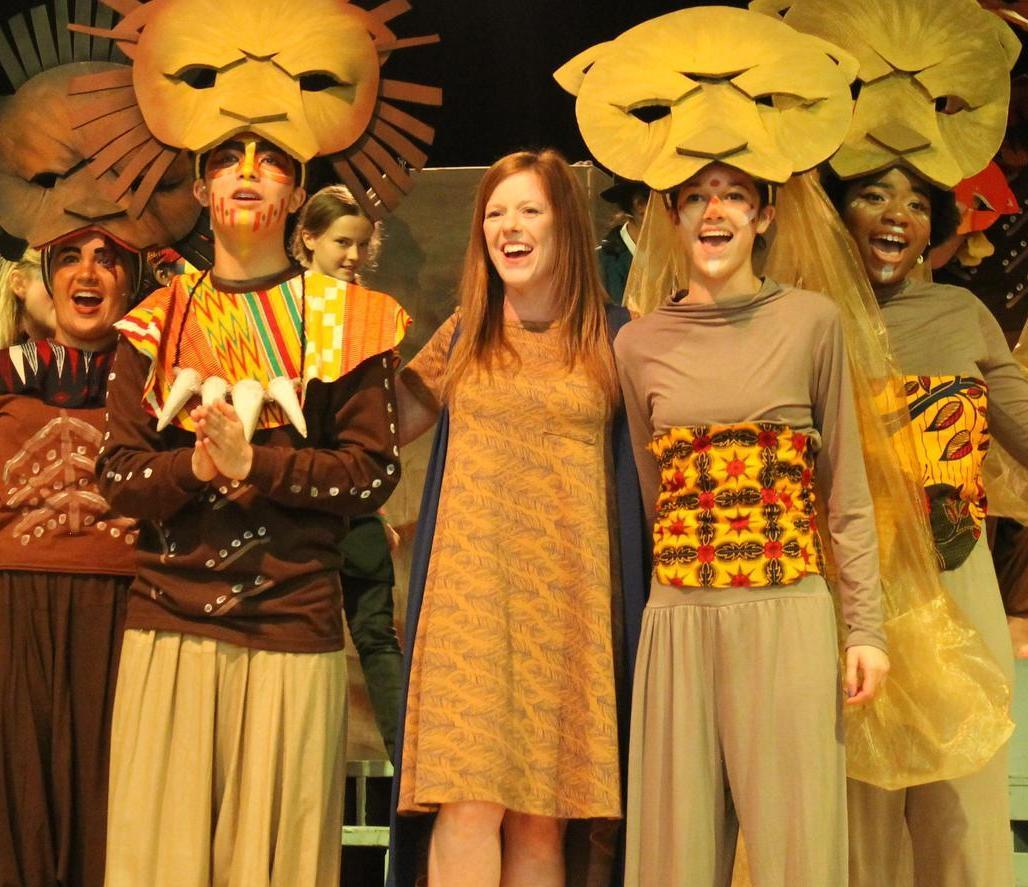 Theater's Production of The Lion King