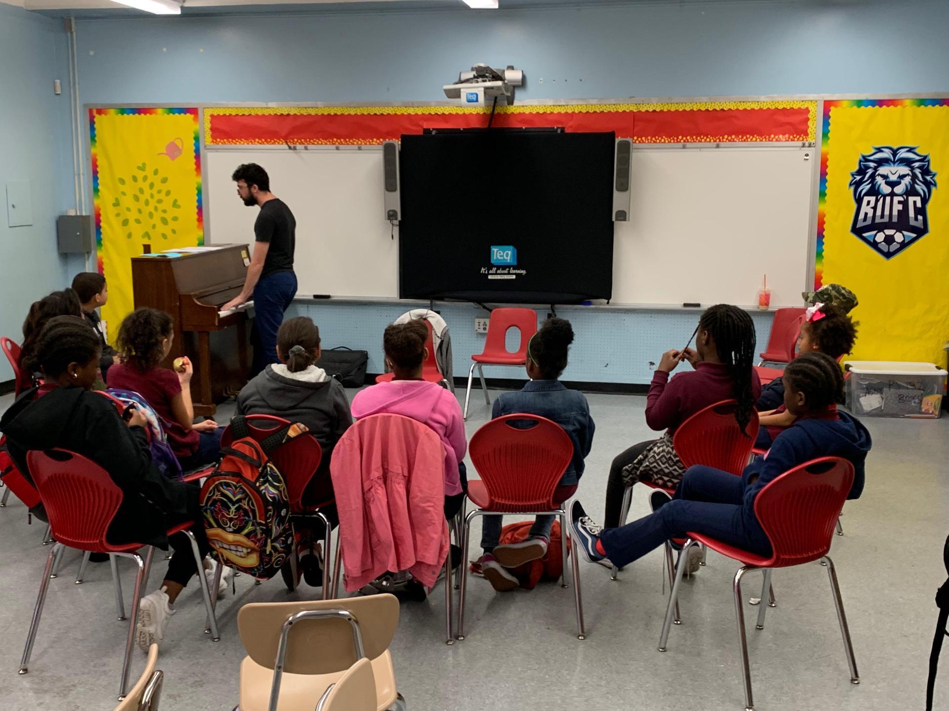 upper grades in chorus program