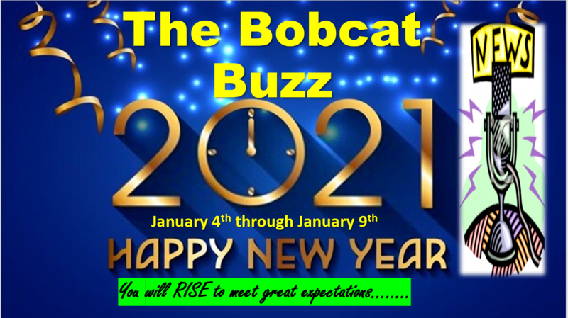 The Weekly Bobcat Buzz! News and Updates 1/5-1/9 Thumbnail Image