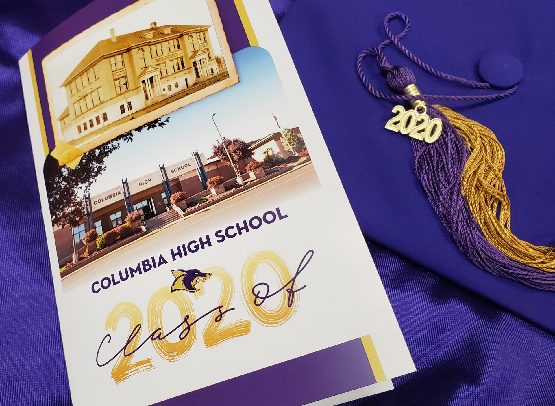 CHS Graduation Cap and Tassel and Program